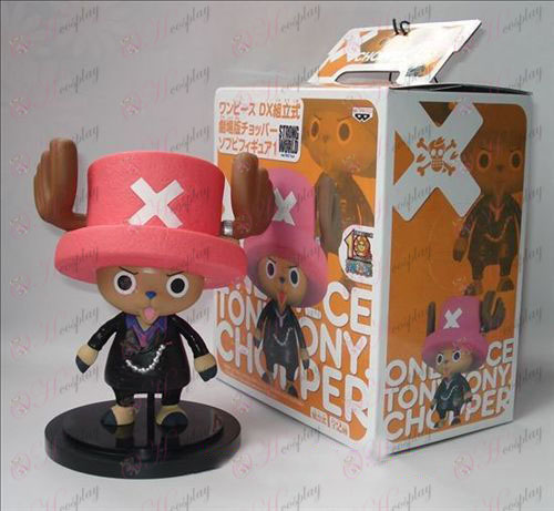 One Piece Zubehör Boxed Set von vertikalen Gentleman Joe Black Puppe