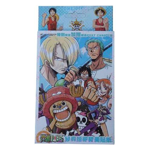 32 One Piece Accessories Stickers