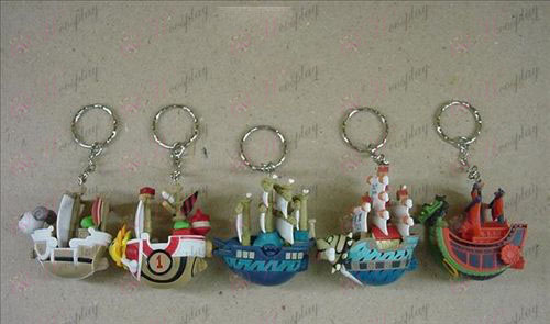 30 Generation 5 models pirate ship Keychain
