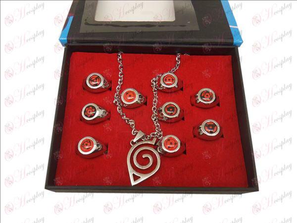 9 Naruto Ring + Necklace