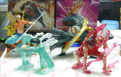 2. generációs 4 modell One Piece Kiegészítők jelenet baba 8 12cm