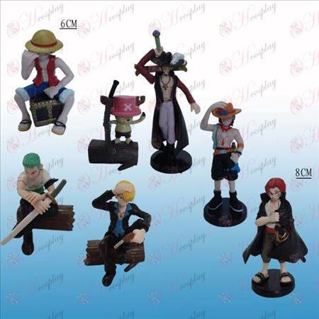 15 от името на седем модела One Piece Аксесоари кукла люлка