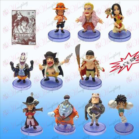 2nd generation 10 One Piece Accessories Blue base doll