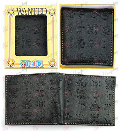 One Piece Accessories embossed wallet
