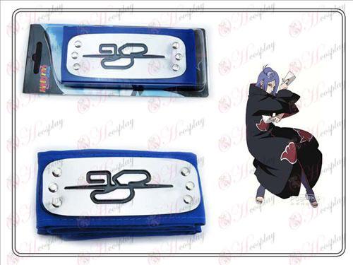 Xiao Xiao Nan szervezet Naruto fejpánt (kék)