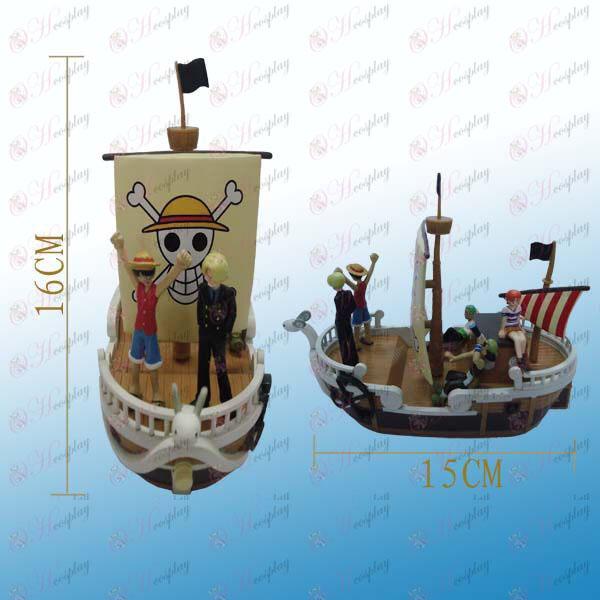 One Piece oprema-piratska ladja