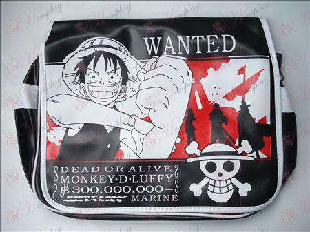 One Piece Luffy Kiegészítők Skull táska