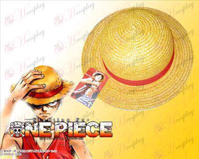 One Piece Acessórios Straw Hat Luffy COS