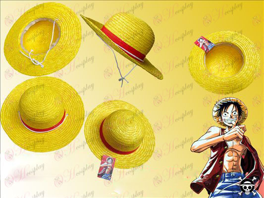One Piece Accessories Straw Hat Luffy COS export version (large)