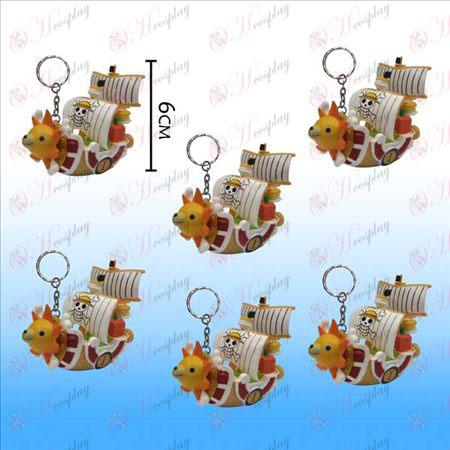 One Piece accessoires Corsair Keychain Sonne (6) (Large)