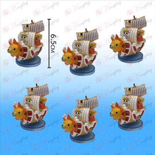 One Piece accessoires Bleu panneau solaire bateau n ° (6) (Large)