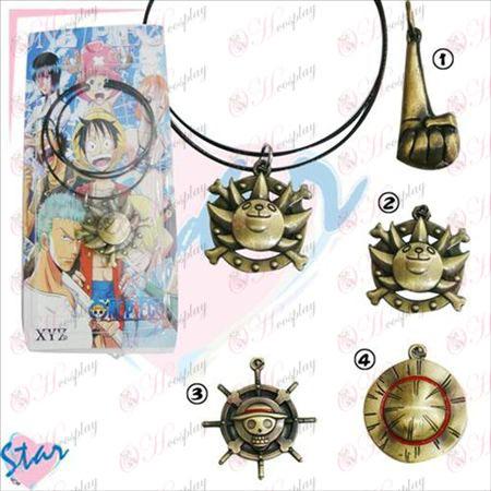 One Piece Tillbehör brons halsband