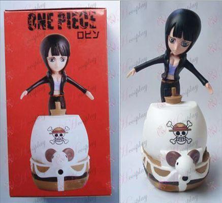 One Piece Dodatki Robin lutka denarja lonec (10cm)