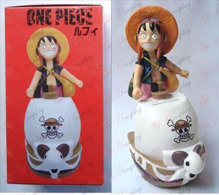 כסף סיר One Piece אבזרים לופי בובה (18 סנטימטר)