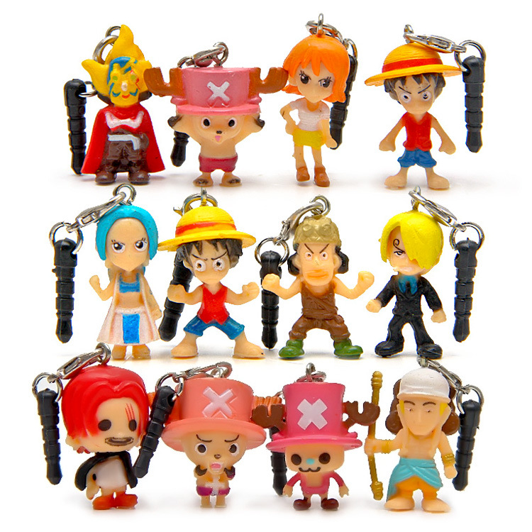 One Piece Accessoires Doll Mobile Strap (12 / set)