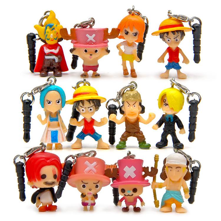 One Piece Doll Αξεσουάρ Mobile Strap (12 / set)