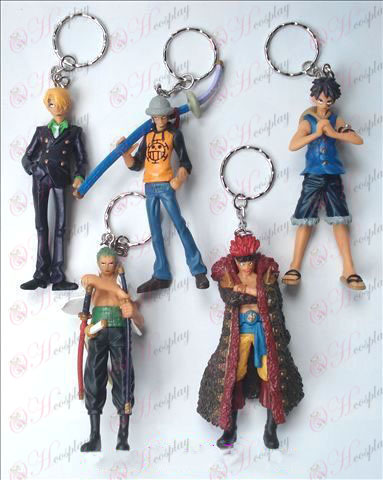 A29-generation 5 models One Piece Accessories Doll Keychain