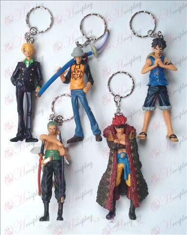 A29-generationen 5 modeller One Piece tillbehör Doll Keychain