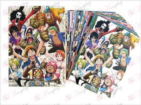 One Piece Accessories Postcards + card 2