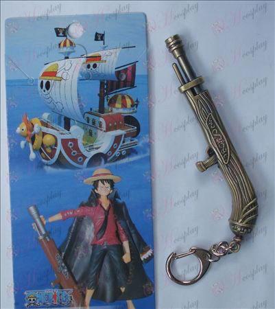 One Piece Ruffy Zubehör Kanone Keychain