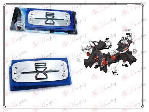 Naruto čelenka rebel piesok (modrá)