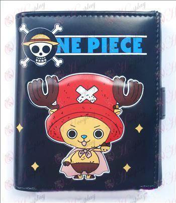 Q versione di One Piece Accessori Chopper portafoglio di massa (A)