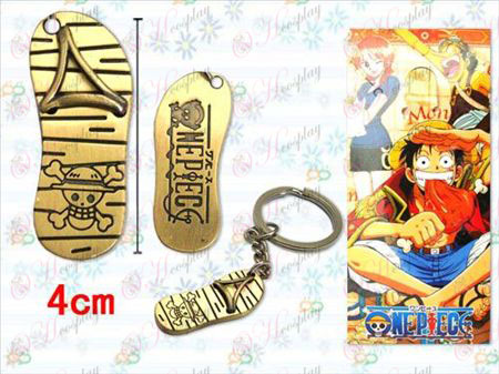 One Piece Luffy accessoires paille Keychain