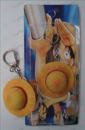 Straw Hat Luffy One Piece Accessories Keychain