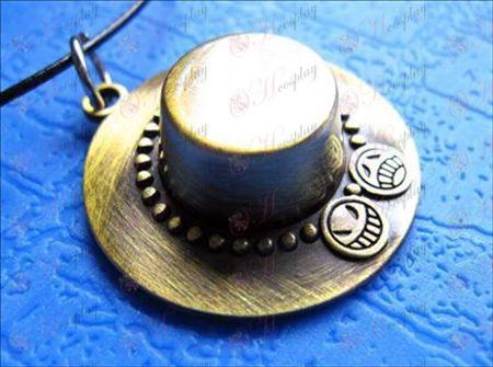 One Piece Acessórios Exelon chapéu colar