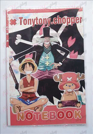 One Piece Tarvikkeet Notebook