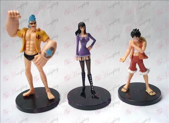 3 אבזרים דוכן 10 דורות One Piece בובה (11-13 סנטימטר)