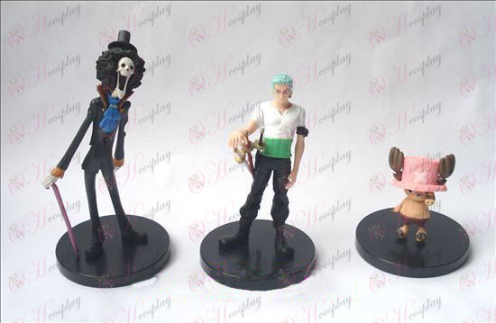 (3) One Piece Accesorios Base Doll (6-17cm)