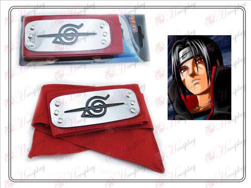 Naruto Uchiha Itachi Diadema (rojo)
