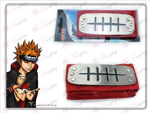Xiao Organisation Payne Naruto pannband (röd)
