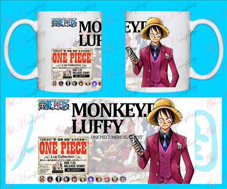 H-One Piece Tilbehør Krus MONKEY-D
