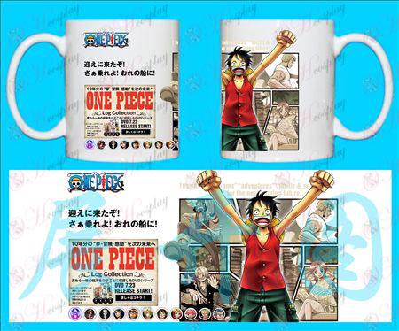 H-One Piece Tilbehør Krus luffy