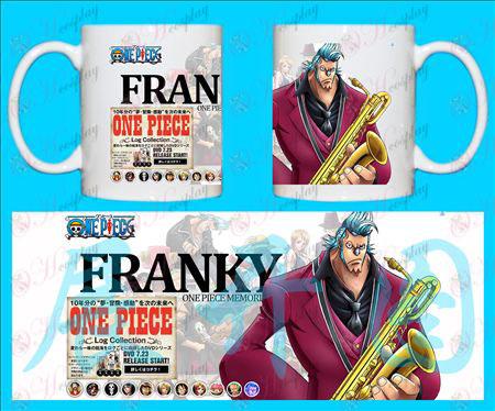 H-One Piece Zubehör Tassen Franky