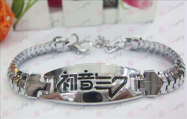 New Hatsune gotejamento pulseira logotipo