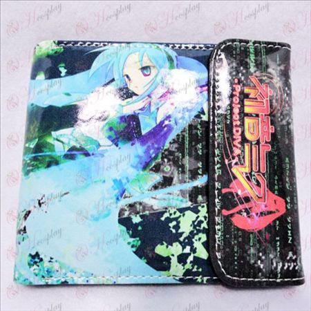 Hatsune Miku Kiegészítők kétszeres pillanat pénztárca