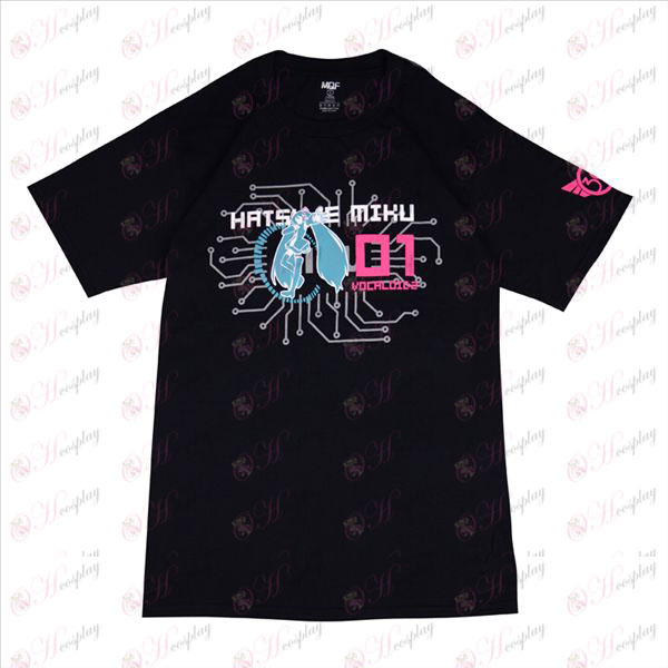 Hatsune T-Shirt (sort)