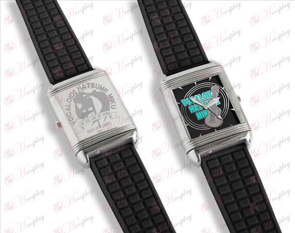 Dual буквално флип часовници (Hatsune)