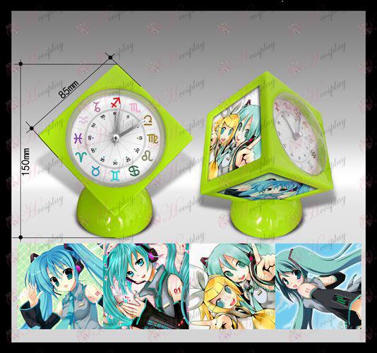 Hatsune часовник куб аларма