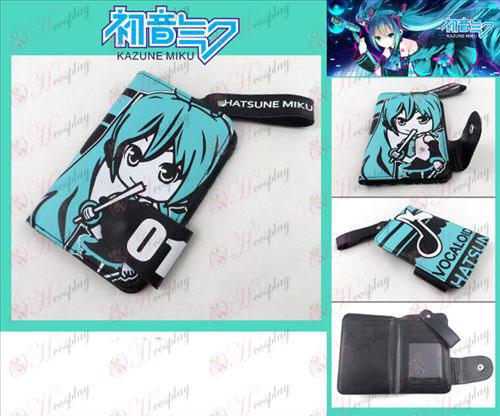 Hatsune i en tegnebog