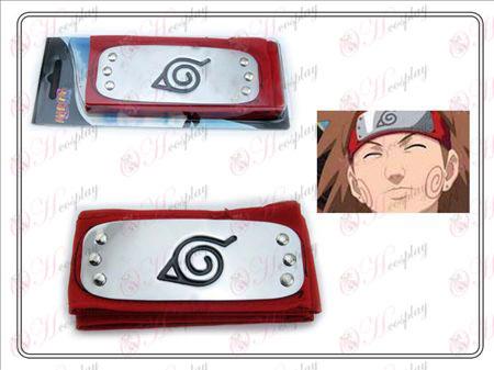 Naruto konoha headband (red)