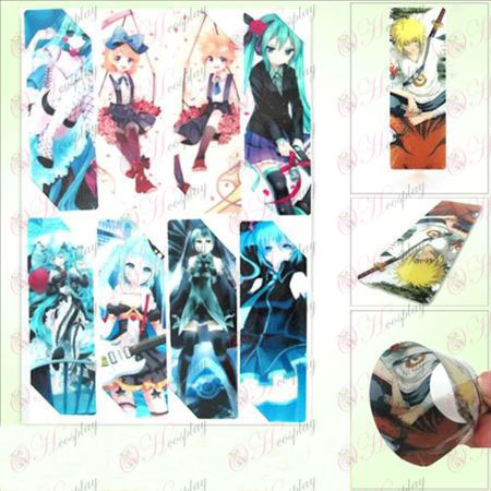 SQ007-Hatsune anime big bookmark (5th edition price)