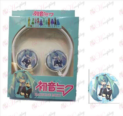 Stereo headset can be folded headphones commutation Hatsune 2