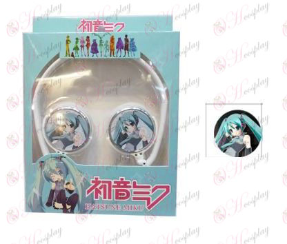 Stereo headset can be folded headphones commutation Hatsune 1