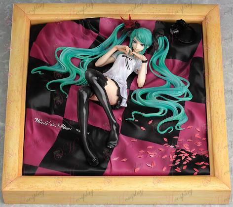 Hatsune Miku Accessories world's first princess photo frame (color)