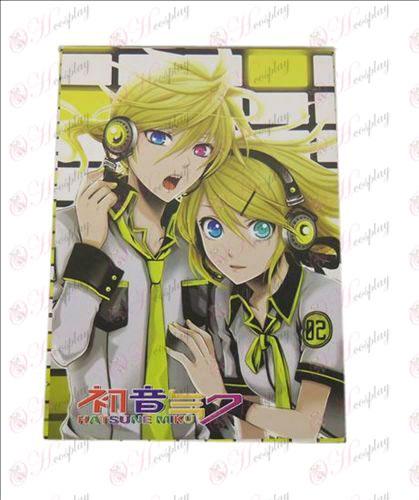 Hatsune Miku - Kagamine Postcard B