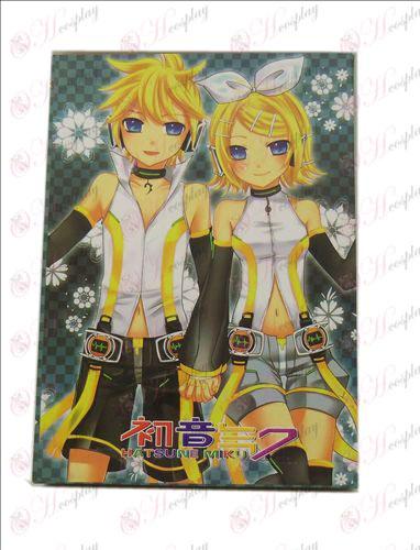 Hatsune Miku - Kagamine Postcard A